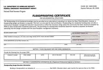 Elevation Certificate in Dalton and Calhoun | Elevation Certificate
